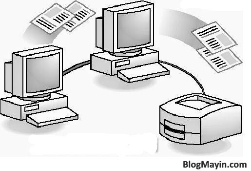 Hướng dẫn kết nối Máy Photocopy thông qua mang Local Area NetWork + Hình 2