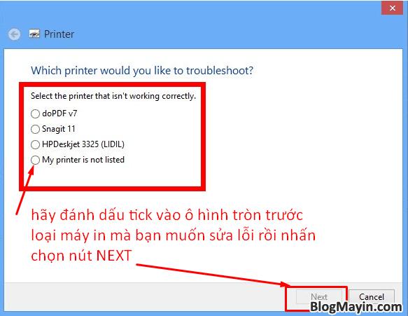 Hướng dẫn khắc phục lỗi máy in không nhận được lệnh in + Hình 3