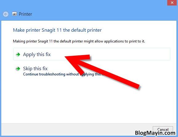 Hướng dẫn khắc phục lỗi máy in không nhận được lệnh in + Hình 5