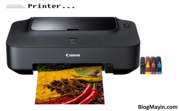 Dựa vào số lần mà đèn nháy trên máy in Canon IP-3680 và đoán ra lỗi + Hình 4