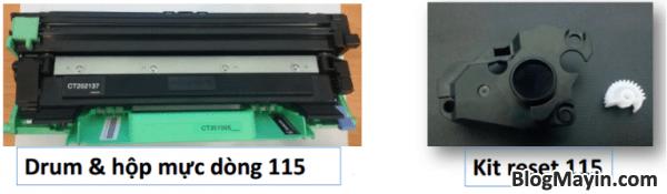 Cách reset mực printer Fuji Xerox P115, M115, P225, M225, P265, & M265 + Hình 2