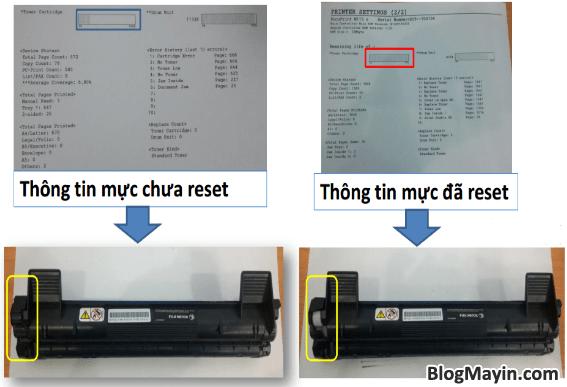 Cách reset mực printer Fuji Xerox P115, M115, P225, M225, P265, & M265 + Hình 4