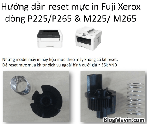 Cách reset mực printer Fuji Xerox P115, M115, P225, M225, P265, & M265 + Hình 5
