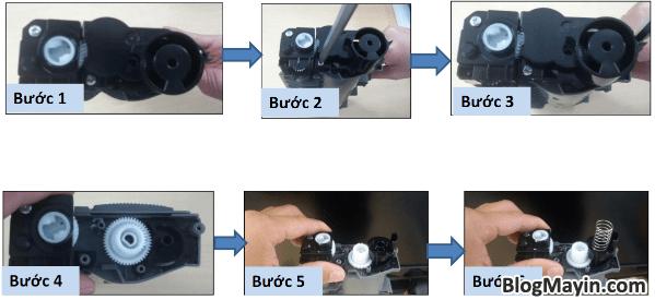 Cách reset mực printer Fuji Xerox P115, M115, P225, M225, P265, & M265 + Hình 6
