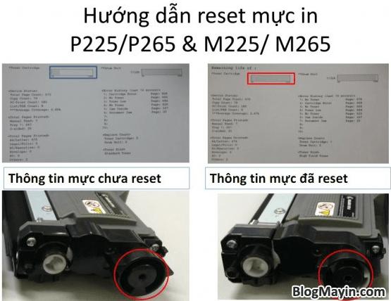 Cách reset mực printer Fuji Xerox P115, M115, P225, M225, P265, & M265 + Hình 7