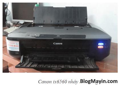 Máy in Canon IX6560 và Bảng mã báo lỗi của nó + Hình 3