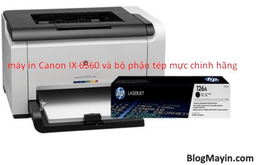 Hướng dẫn sửa lỗi đèn vàng nháy 4 lần trên Printer Canon IX6560 + Hình 3