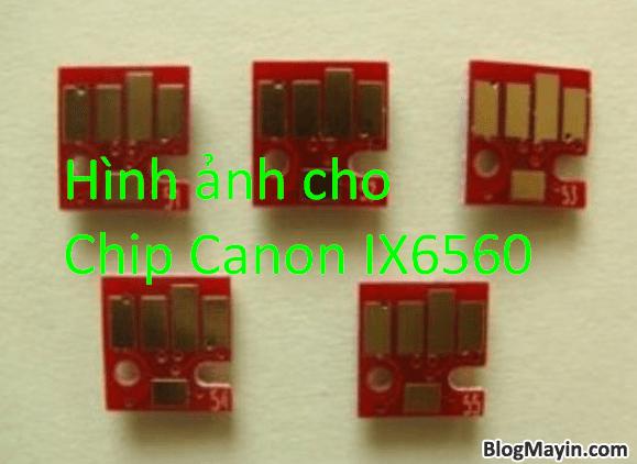 Hướng dẫn sửa lỗi đèn vàng nháy 4 lần trên Printer Canon IX6560 + Hình 6