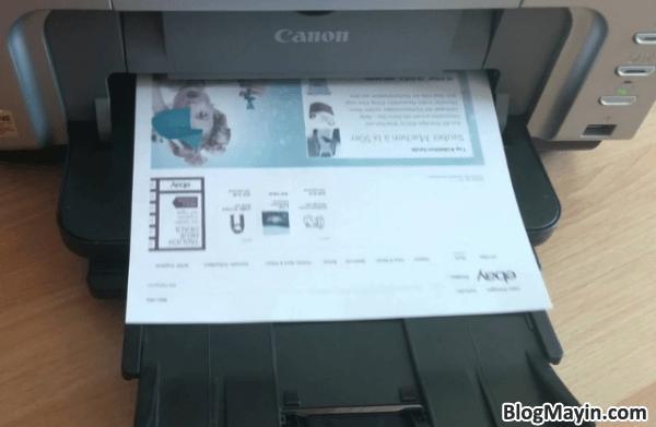 Hệ thống Bảng mã báo lỗi thường gặp trên Printer Canon IP4200 + Hình 3