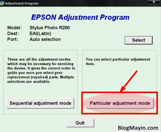 Máy in phun EPSON bị lỗi không đều mực và Cách khắc phục lỗi + Hình 11