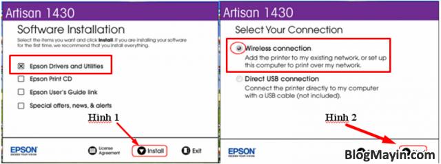 Hướng dẫn cài đặt Wifi máy in Epson Artisan 1430 + Hình 2