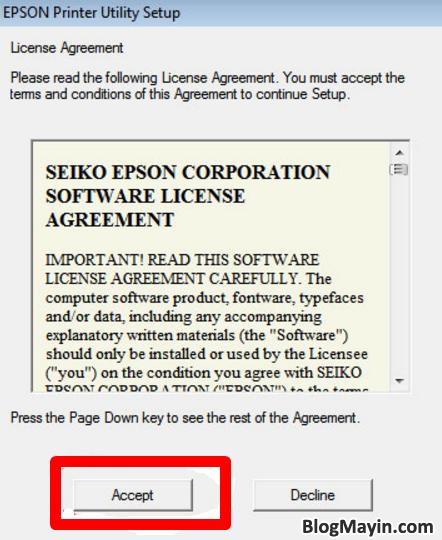 Hướng dẫn cài đặt driver máy in Epson T50 và T60 cho người mới + Hình 5