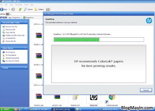 Hướng dẫn cài đặt Driver Wifi cho máy in HP Officejet X451DW + Hình 6