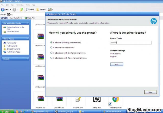 Hướng dẫn cài đặt Driver Wifi cho máy in HP Officejet X451DW + Hình 12