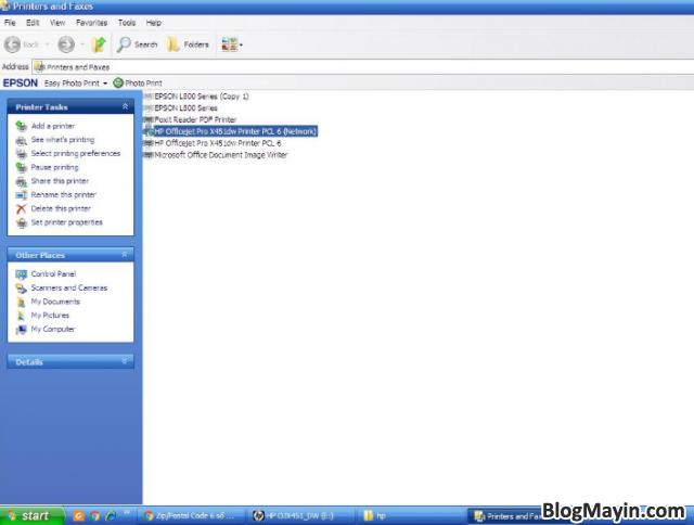 Hướng dẫn cài đặt Driver Wifi cho máy in HP Officejet X451DW + Hình 21