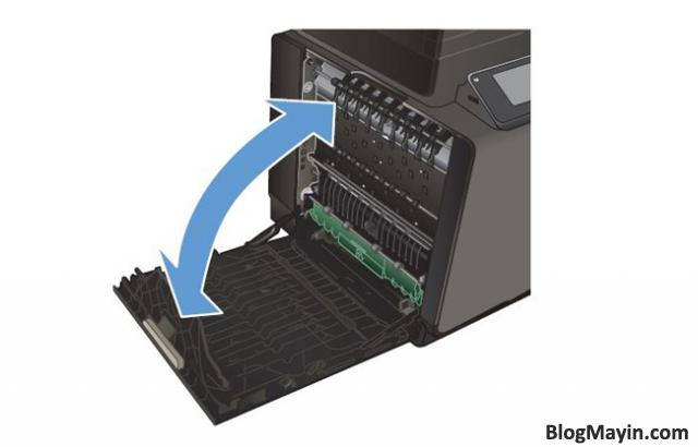 Sửa lỗi kẹt giấy máy in phun siêu tốc HP Officejet Pro X451DW + Hình 4