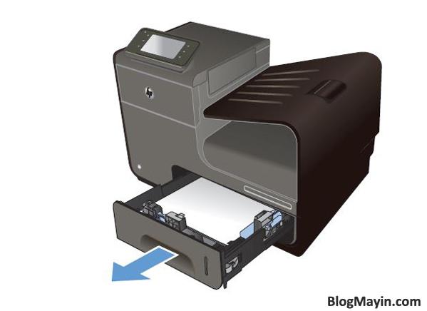 Sửa lỗi kẹt giấy máy in phun siêu tốc HP Officejet Pro X451DW + Hình 8