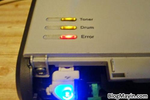 ướng dẫn nhận biết lỗi máy in thông qua tín hiệu đèn báo + Hình 2