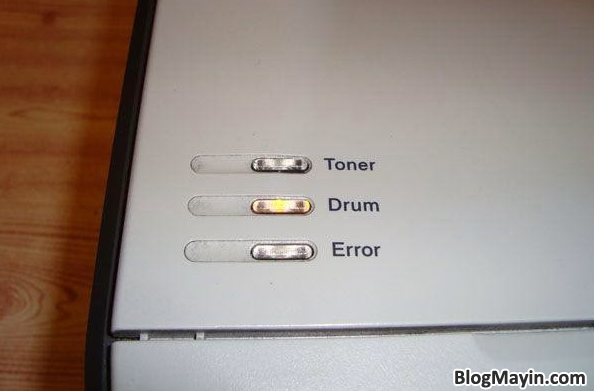 ướng dẫn nhận biết lỗi máy in thông qua tín hiệu đèn báo + Hình 4