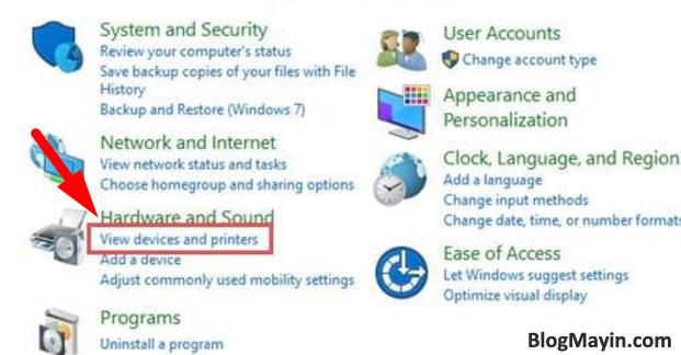 Hướng dẫn sửa lỗi máy in không nhận được lệnh in trên máy tính + Hình 7