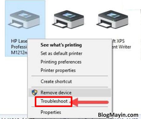 Hướng dẫn sửa lỗi máy in không nhận được lệnh in trên máy tính + Hình 8