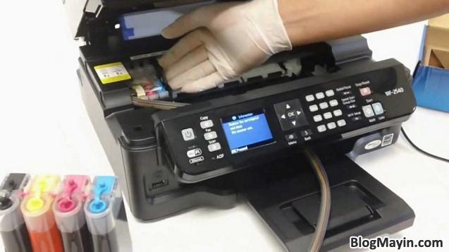 Hướng dẫn bạn cách Sửa lỗi máy in sai màu, mất màu + Hình 2
