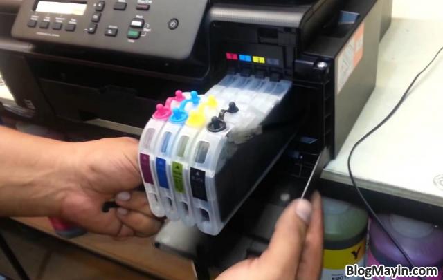 Hướng dẫn bạn cách Sửa lỗi máy in sai màu, mất màu + Hình 3