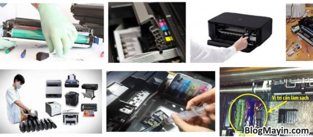 Hướng dẫn bạn cách Sửa lỗi máy in sai màu, mất màu + Hình 5