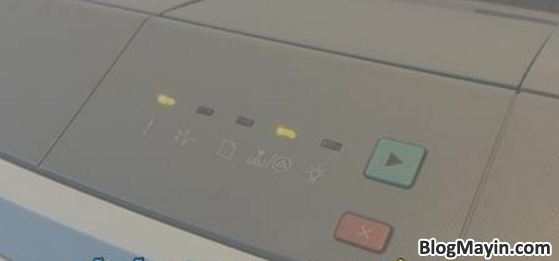 Hướng dẫn sửa lỗi máy in nhấp nháy đèn hoặc không sáng + Hình 3