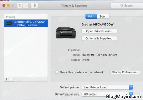 Những cách sửa lỗi máy in trên MacBook được áp dụng nhiều nhất + Hình 5