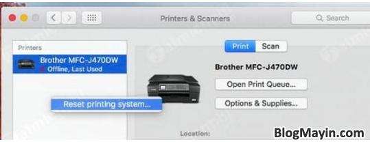 Những cách sửa lỗi máy in trên MacBook được áp dụng nhiều nhất + Hình 6