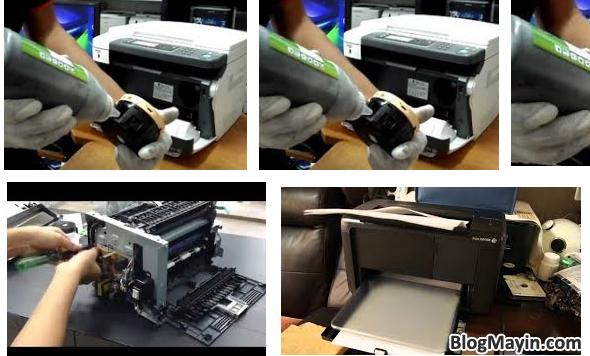 Sửa lỗi máy in cho ra bản in bị mờ chữ, không đậm, không rõ nét + Hình 4