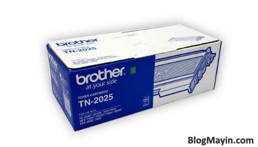 Hướng dẫn kiểm tra mực máy in Brother chính hãng + Hình 2