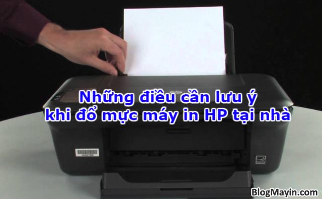 Những điều cần lưu ý khi đổ mực máy in HP tại nhà + Hình 1