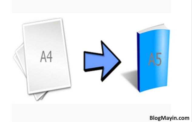 Hướng dẫn bạn cách in giấy A4 thành 2 tờ giấy A5 trong Excel, Word + Hình 2