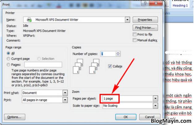 Hướng dẫn bạn cách in giấy A4 thành 2 tờ giấy A5 trong Excel, Word + Hình 6