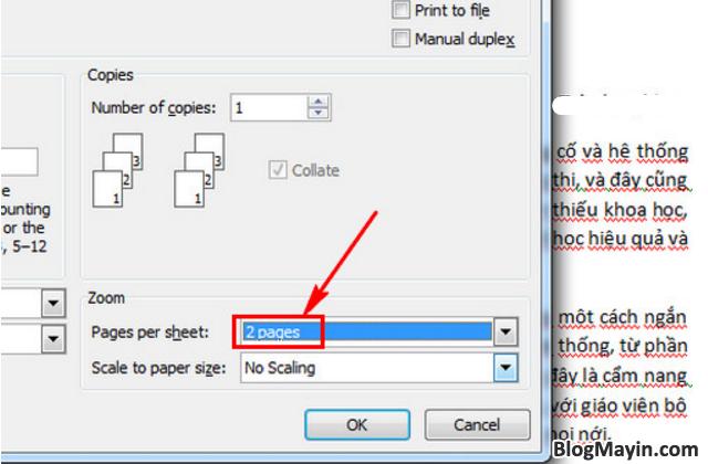 Hướng dẫn bạn cách in giấy A4 thành 2 tờ giấy A5 trong Excel, Word + Hình 7