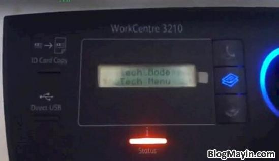 Hướng dẫn các bạn cách Reset máy in Fuji Xerox + Hình 5
